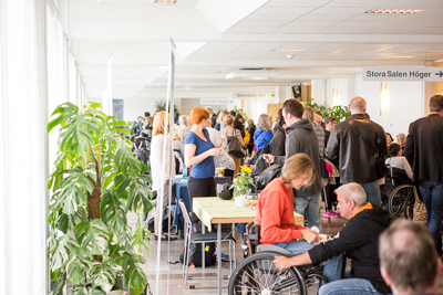 World MS-day 2015. Paus. Foto: Torbjörn Lagerwall