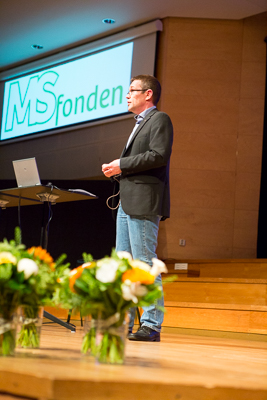 World MS-day 2015. Jonas W Foto: Torbjörn Lagerwall