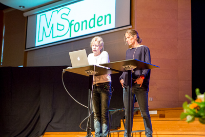World MS-day 2015. Siv Ohlin. Foto: Torbjörn Lagerwall