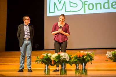 World MS-day 2015. Årets MS-ambassadör. Foto: Torbjörn Lagerwall